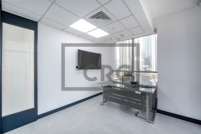 partitioned and semi-furnished office for sale in jumeirah lake towers, tiffany tower | 5