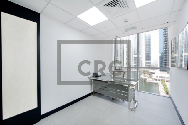 partitioned and semi-furnished office for sale in jumeirah lake towers, tiffany tower | 4