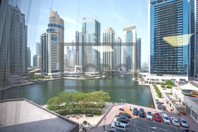 partitioned and semi-furnished office for sale in jumeirah lake towers, tiffany tower | 10
