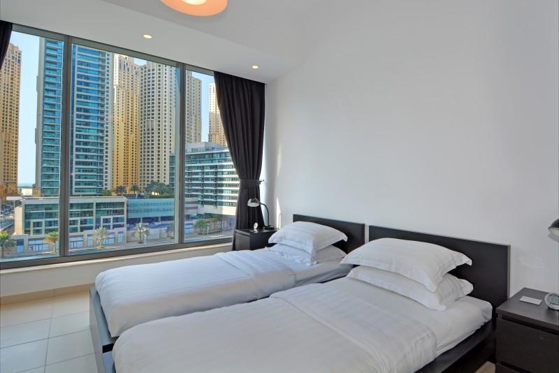 2 Bedroom Apartment For Short Term Rental in  Silverene Tower A,  Dubai Marina | 5