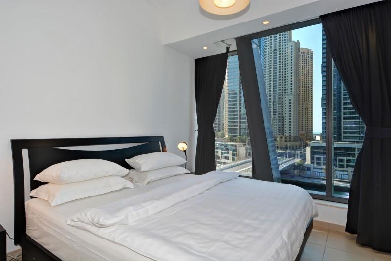 2 Bedroom Apartment For Short Term Rental in  Silverene Tower A,  Dubai Marina | 6
