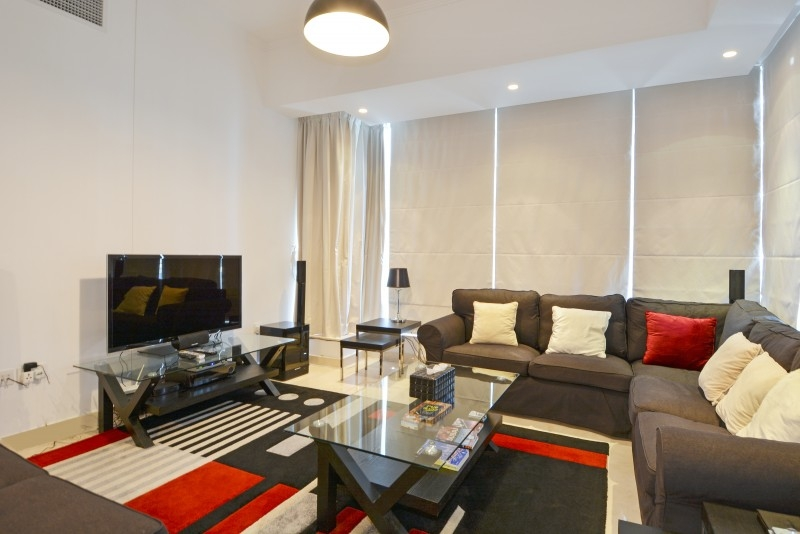 2 Bedroom Apartment For Short Term Rental in  Silverene Tower A,  Dubai Marina | 1
