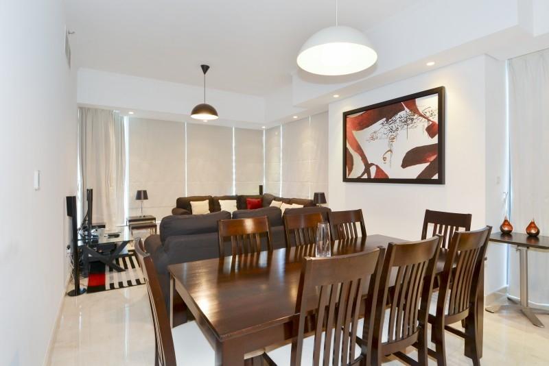 2 Bedroom Apartment For Short Term Rental in  Silverene Tower A,  Dubai Marina | 3