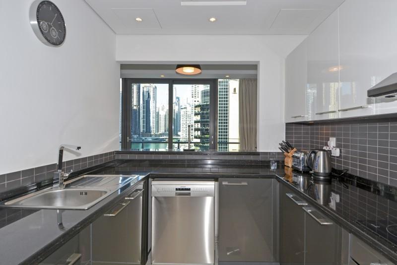2 Bedroom Apartment For Short Term Rental in  Silverene Tower A,  Dubai Marina | 4