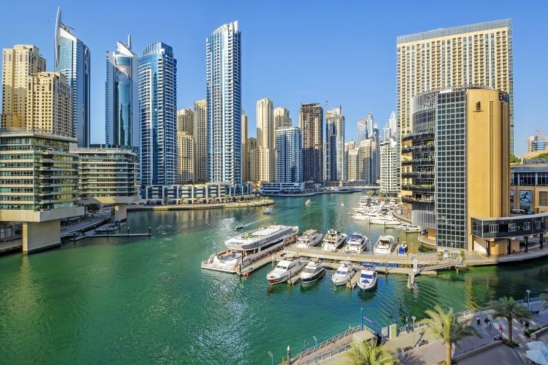 2 Bedroom Apartment For Short Term Rental in  Silverene Tower A,  Dubai Marina | 2