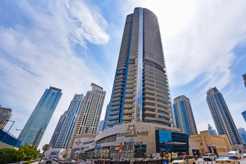 2 Bedroom Apartment For Short Term Rental in  Trident Grand Residence,  Dubai Marina | 9