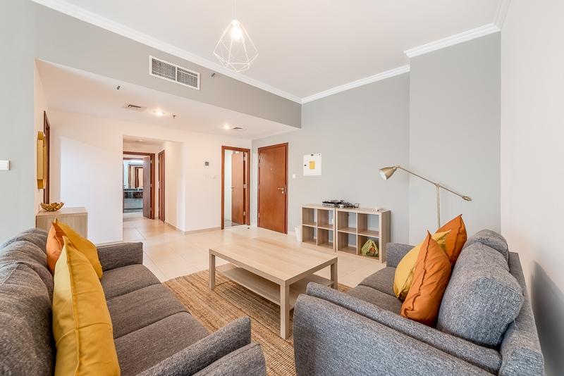 2 Bedroom Apartment For Short Term Rental in  Burj Al Nujoom,  Downtown Dubai   9