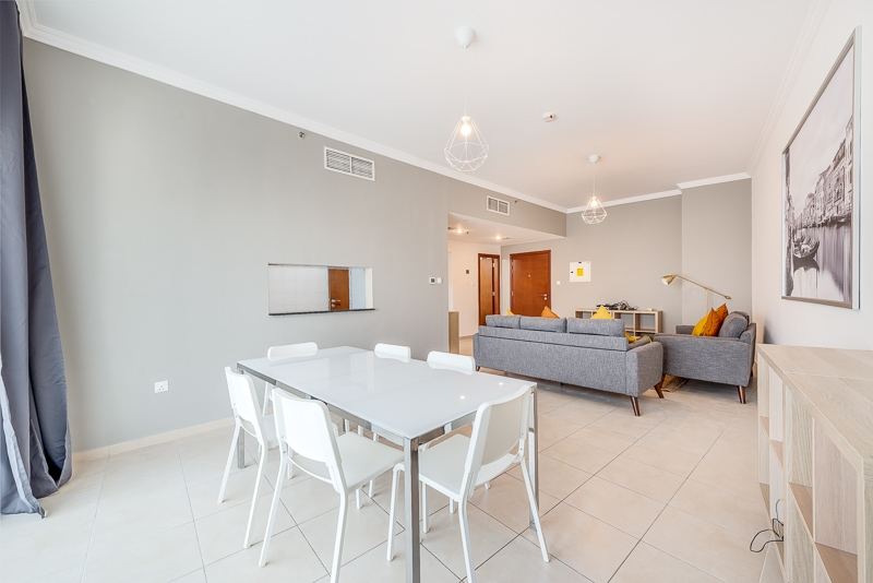 2 Bedroom Apartment For Short Term Rental in  Burj Al Nujoom,  Downtown Dubai   1