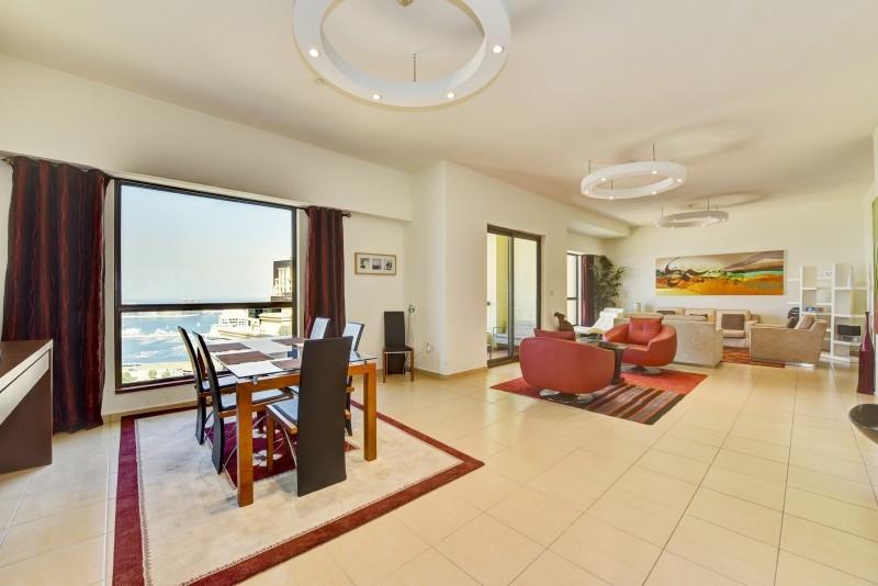 2 Bedroom Apartment For Short Term Rental in  Sadaf 7,  Jumeirah Beach Residence   1