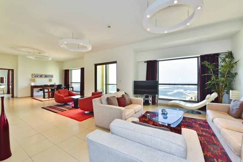 2 Bedroom Apartment For Short Term Rental in  Sadaf 7,  Jumeirah Beach Residence   0