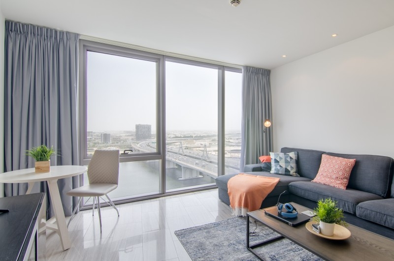 Studio Apartment For Rent in  D1 Tower,  Culture Village | 11