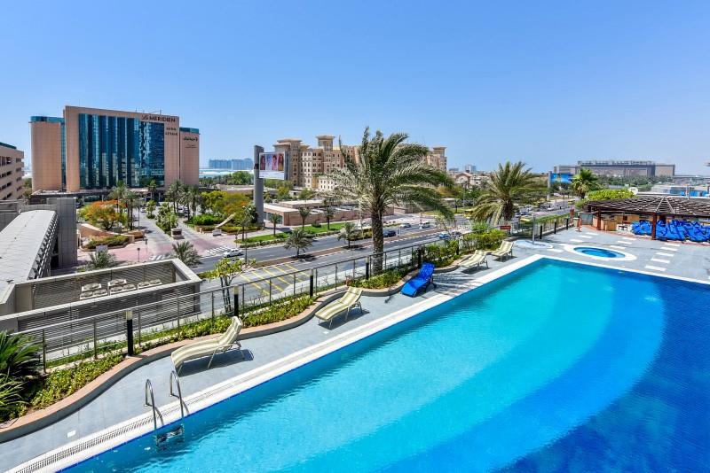 2 Bedroom Apartment For Rent in  Ocean Heights,  Dubai Marina | 9