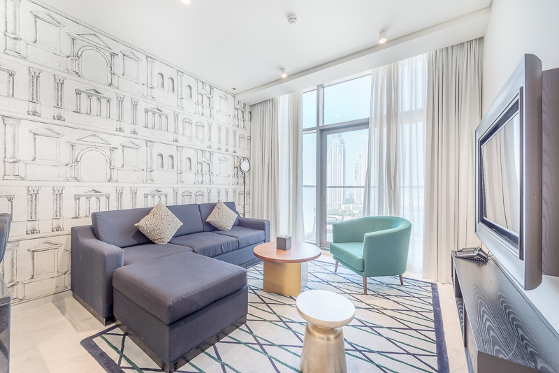 1 Bedroom Hotel Apartment For Rent in  The Atria,  Business Bay | 0
