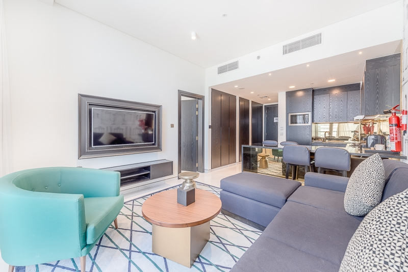 1 Bedroom Hotel Apartment For Rent in  The Atria,  Business Bay | 2