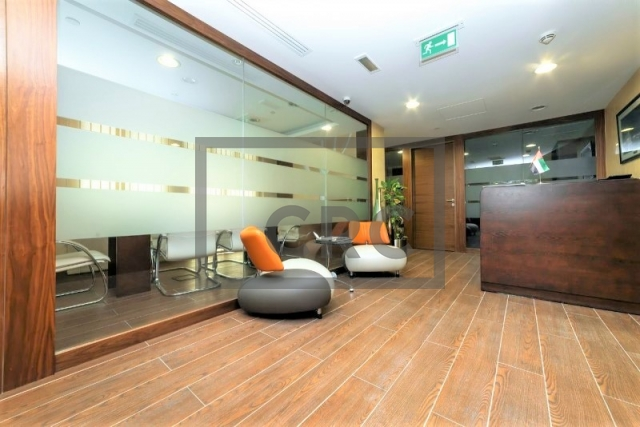 furnished office for sale in business bay, executive tower d (aspect tower)   1