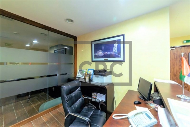 furnished office for sale in business bay, executive tower d (aspect tower)   9