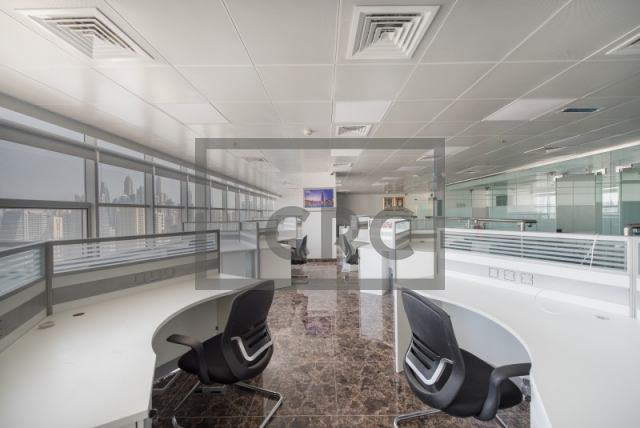 furnished office for sale in jumeirah lake towers, mazaya business avenue bb2 | 2