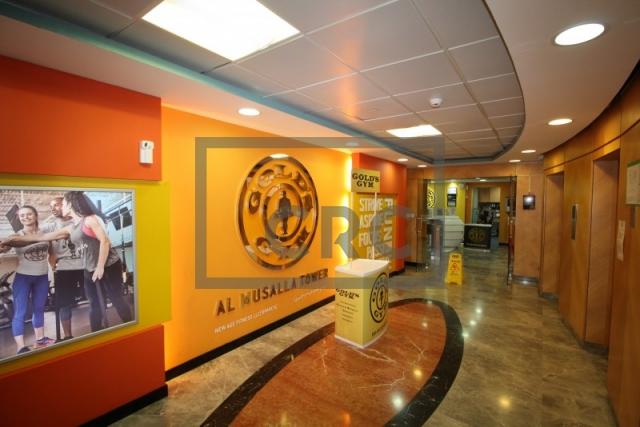 office for rent in bur dubai, al musalla tower | 8