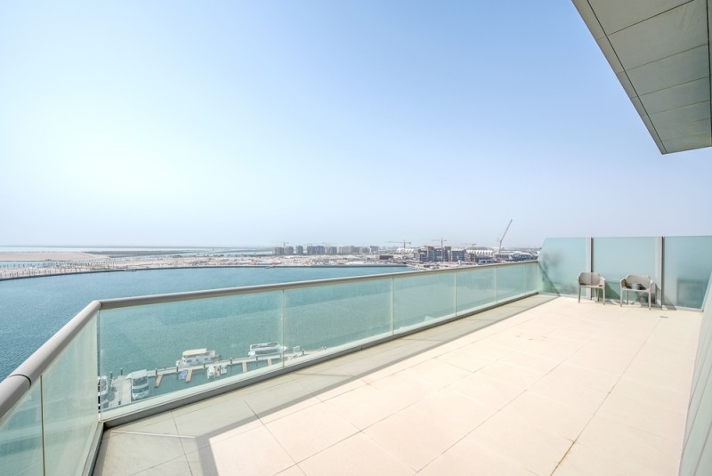 4 Bedroom Penthouse For Sale in  Al Naseem Residences C,  Al Raha Beach   5