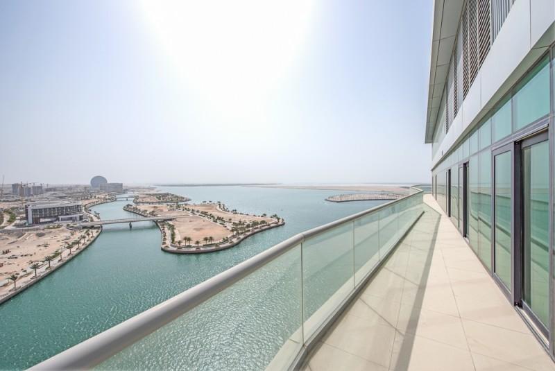 4 Bedroom Penthouse For Sale in  Al Naseem Residences C,  Al Raha Beach   6