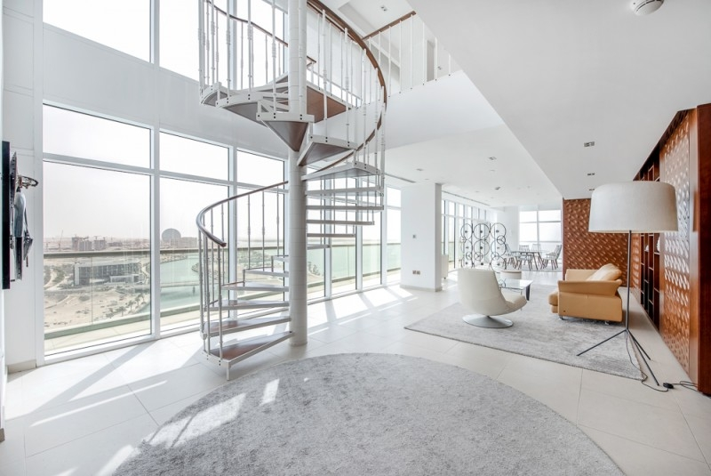 4 Bedroom Penthouse For Sale in  Al Naseem Residences C,  Al Raha Beach   9