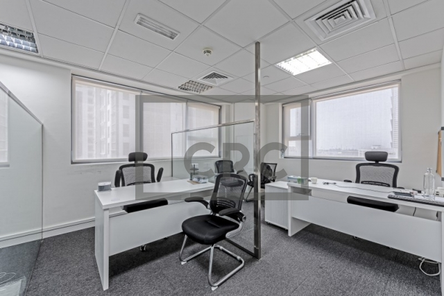 furnished office for sale in business bay, executive tower d(aspect) | 3