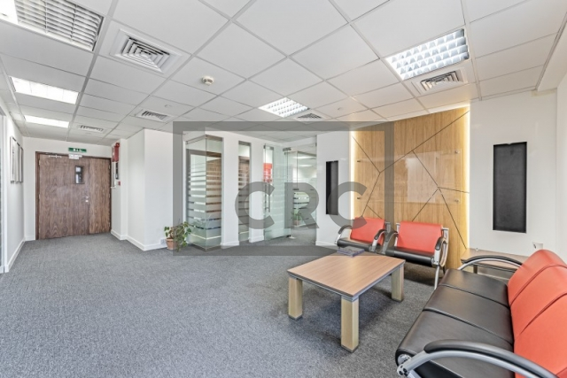 furnished office for sale in business bay, executive tower d(aspect) | 2