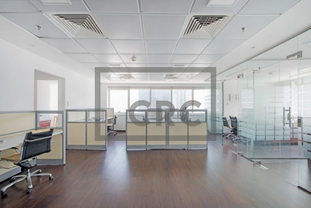 1,258 sq.ft. Office in Jumeirah Lake Towers, Hds Tower for AED 880,579