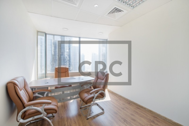 713 sq.ft. Office in Jumeirah Lake Towers, Gold Tower for AED 75,000