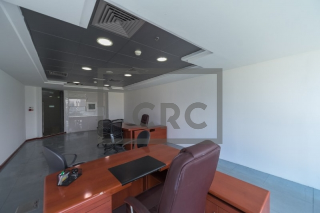 semi-furnished office for rent in business bay, blue bay tower | 1