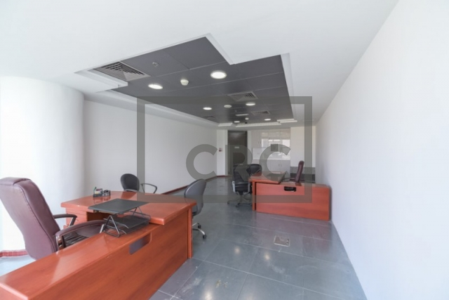 semi-furnished office for rent in business bay, blue bay tower | 5