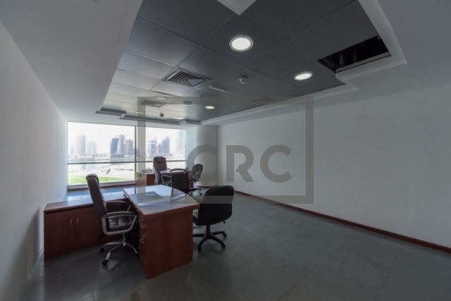 semi-furnished office for rent in business bay, blue bay tower | 7