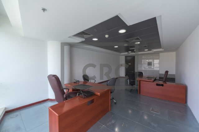 semi-furnished office for rent in business bay, blue bay tower | 8