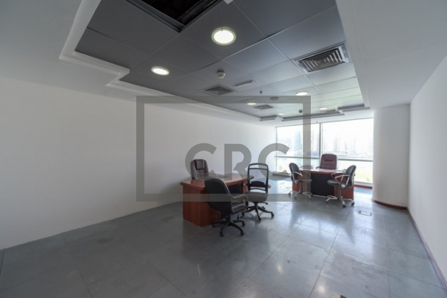 semi-furnished office for rent in business bay, blue bay tower | 9