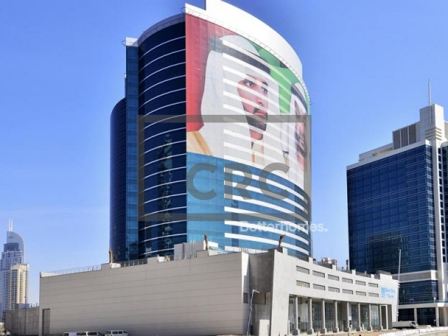 semi-furnished office for rent in business bay, blue bay tower | 6