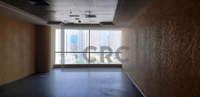 semi-furnished office for rent in business bay, blue bay tower | 0