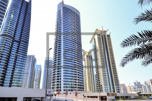 semi-furnished office for sale in jumeirah lake towers, jumeirah bay x2 | 4