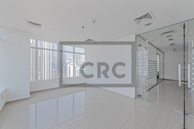 1,206 sq.ft. Office in Business Bay, Clover Bay Tower for AED 899,000