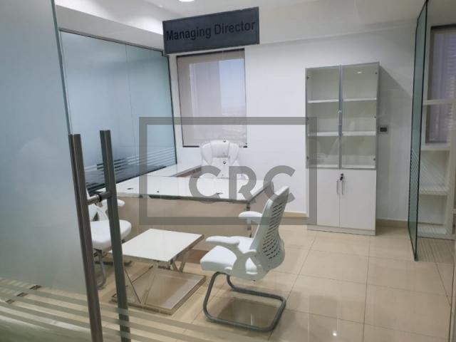 furnished office for sale in business bay, executive tower d(aspect) | 4