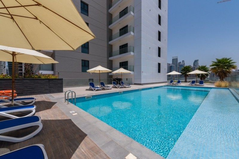 1 Bedroom Apartment For Rent in  Sol Bay,  Business Bay   11