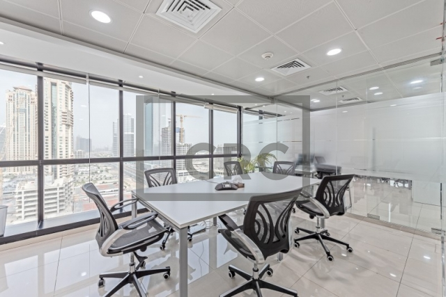 1,351 sq.ft. Office in Jumeirah Lake Towers, Jumeirah Business Centre 4 for AED 1,216,179