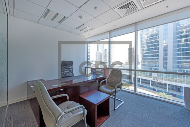 office for sale in business bay, bay square building 1 | 5