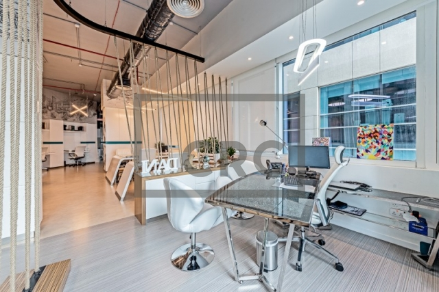 furnished office for rent in business bay, bay square building 11 | 9
