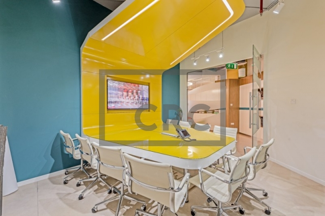furnished office for rent in business bay, bay square building 11 | 2