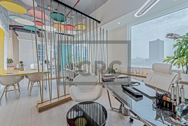 furnished office for rent in business bay, bay square building 11 | 4