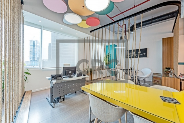 furnished office for rent in business bay, bay square building 11 | 8