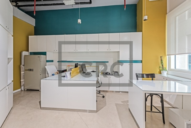furnished office for rent in business bay, bay square building 11 | 10