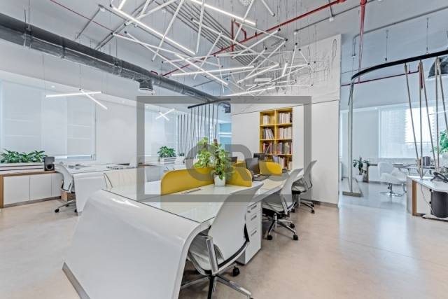 furnished office for rent in business bay, bay square building 11 | 1