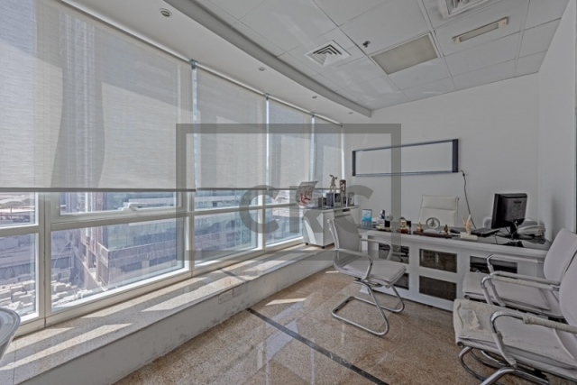 office for sale in jumeirah lake towers, fortune tower | 1