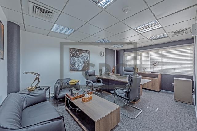 office for rent in al garhoud, airport road area | 5